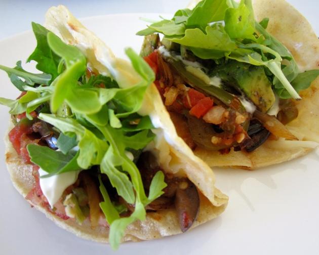 Spicy Veggie Tacos