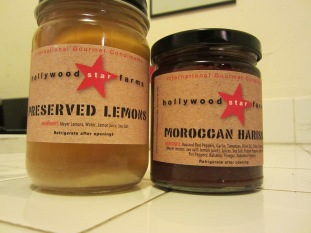 Hollywood Star Farms Harissa and Preserved Lemons