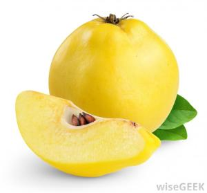 Quince courtesy of Wisegeek.com